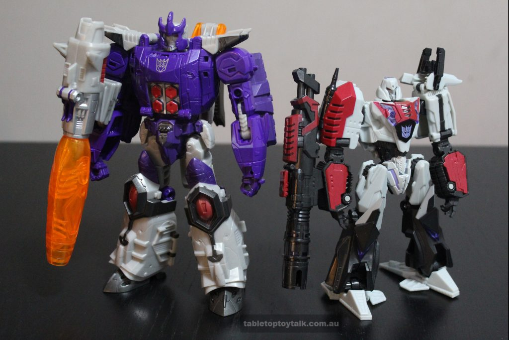 Galvatron and War for Cybertron Megatron
