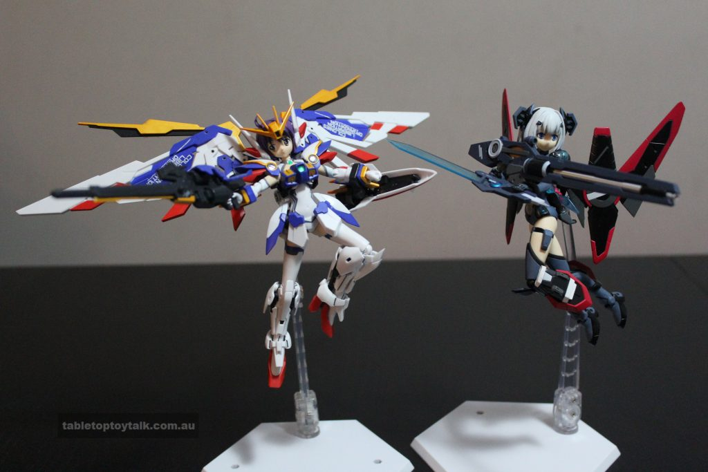 Wing Gundam Girl featuring Origami from Date-A-Live