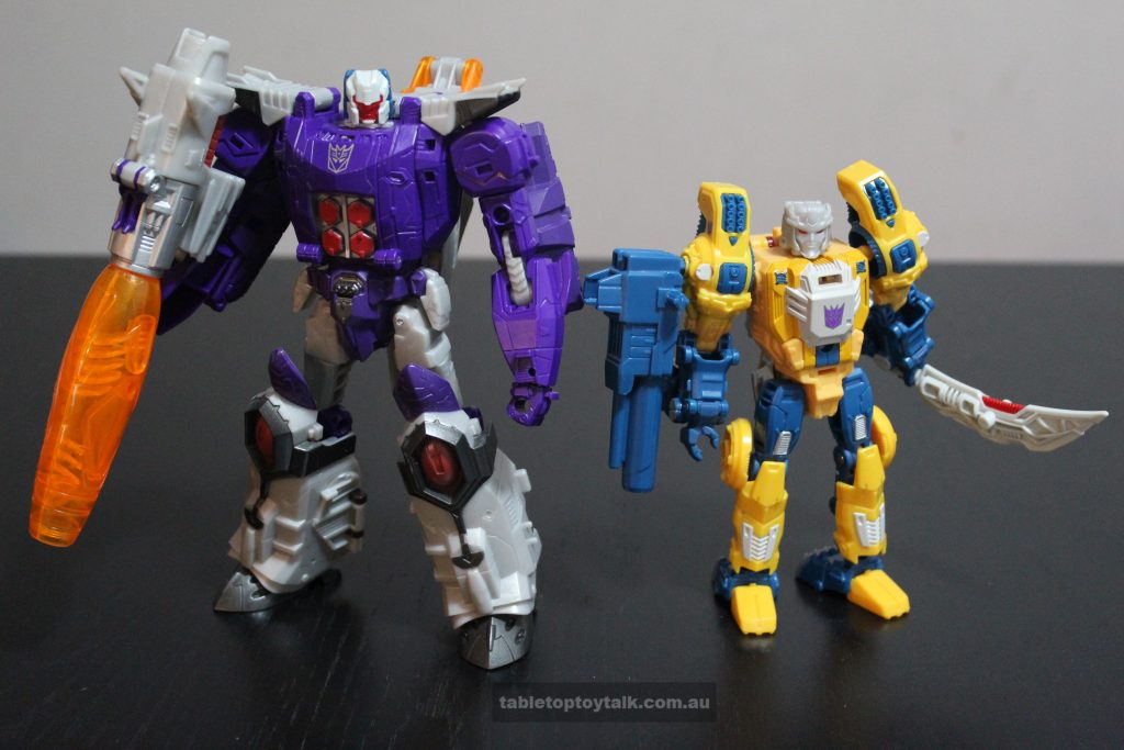 Mix and Match with Titans Return Wolfwire and Monxo