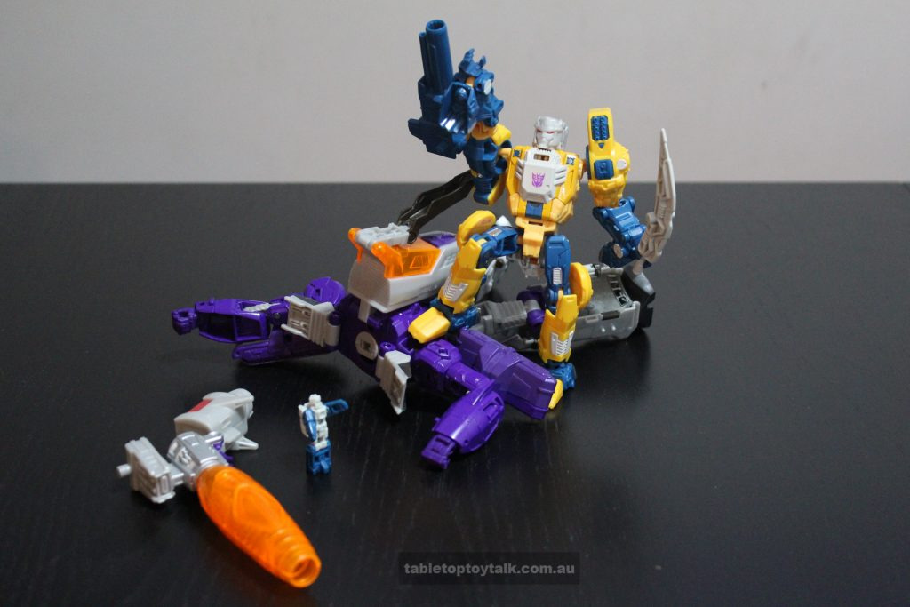 Look at me! I'm Galvatron! Hurr durr. You suck, Starscream!
