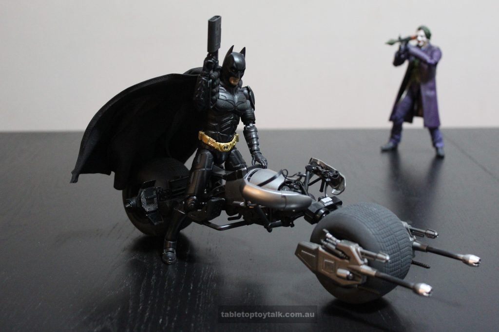 The Joker doesn't always appreciate Batman's wonderful toys...